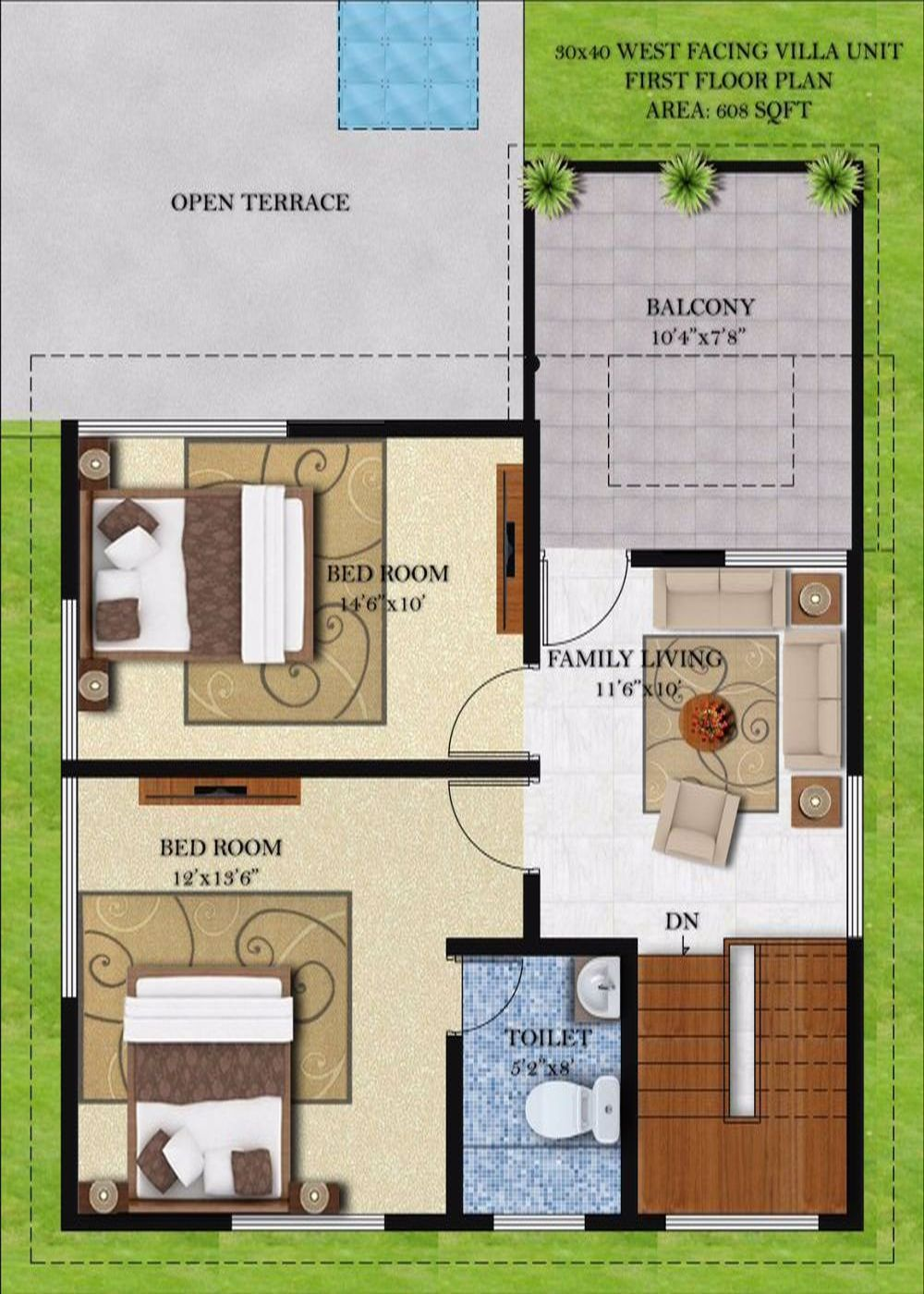 House Map Design 30 X 60 30 X 40 House Plans 14 Classy