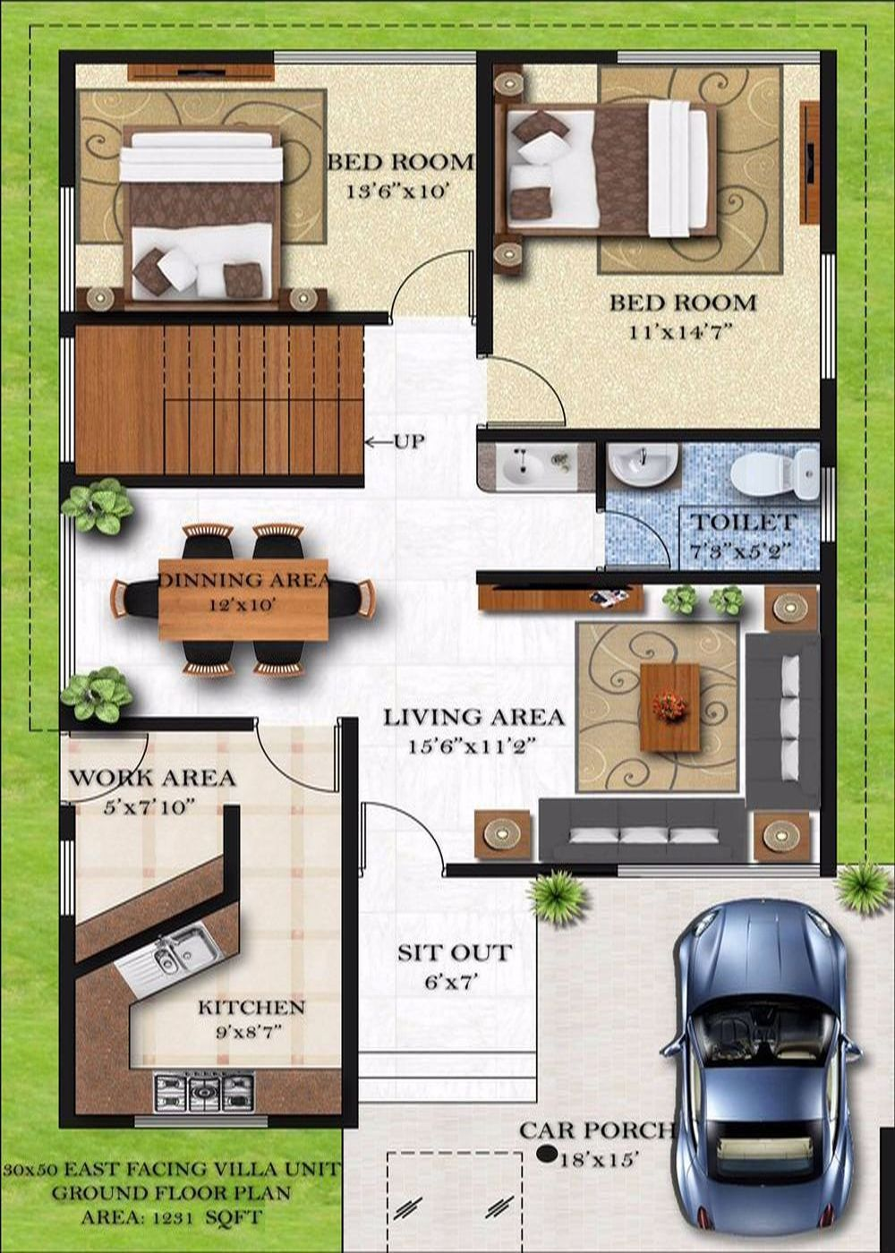 30 x 40 first floor house plans for 1st floor house plan india